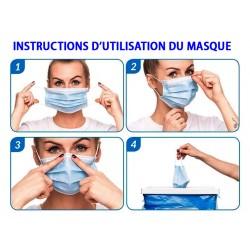 notice de pose du masque
