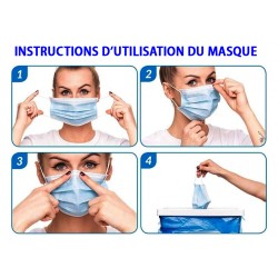 notice de pose du masque
