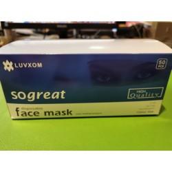 Boîte 50 masques chirurgicaux  LUVXOM